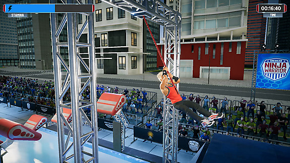 American Ninja Warrior: Challenge - Screenshot INDEX