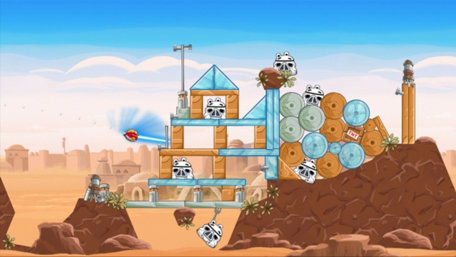 Angry Birds Star Wars Trailer Screenshot