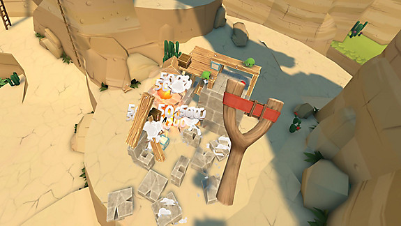Angry Birds VR: Isle of Pigs - Screenshot INDEX