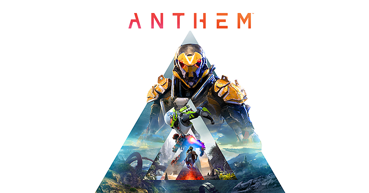 Anthem Game Ps4 Playstation