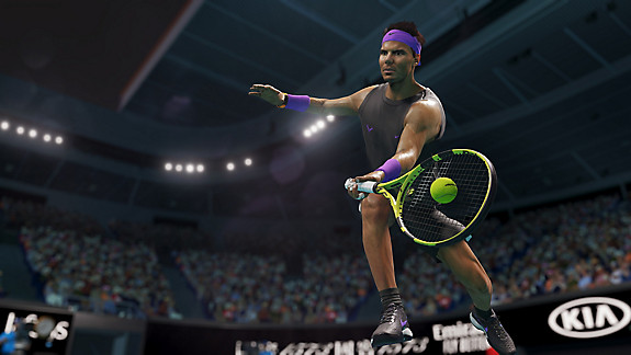 AO Tennis 2 - Screenshot INDEX