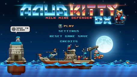 AQUA KITTY - Milk Mine Defender DX Trailer Screenshot