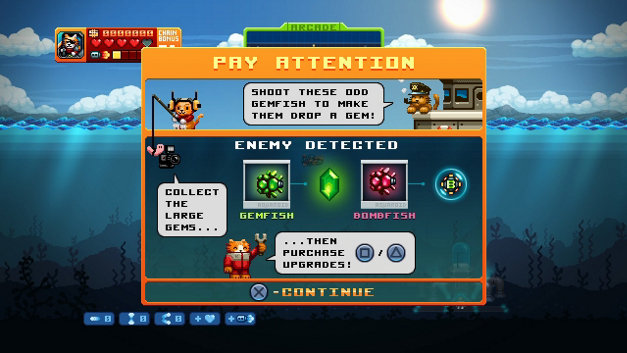 AQUA KITTY - Milk Mine Defender DX Screenshot 4