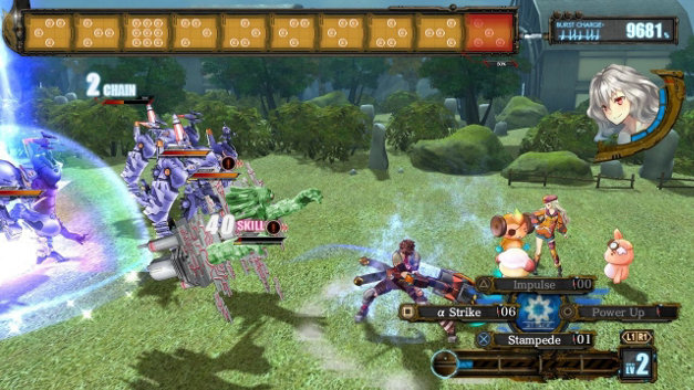 Ar nosurge: Ode to an Unborn Star Screenshot 1