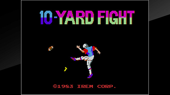 Arcade Archives 10-Yard Fight - Screenshot INDEX