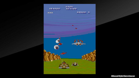 Arcade Archives A-JAX Trailer Screenshot