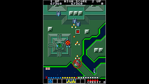 Arcade Archives ALPHA MISSION - Screenshot INDEX