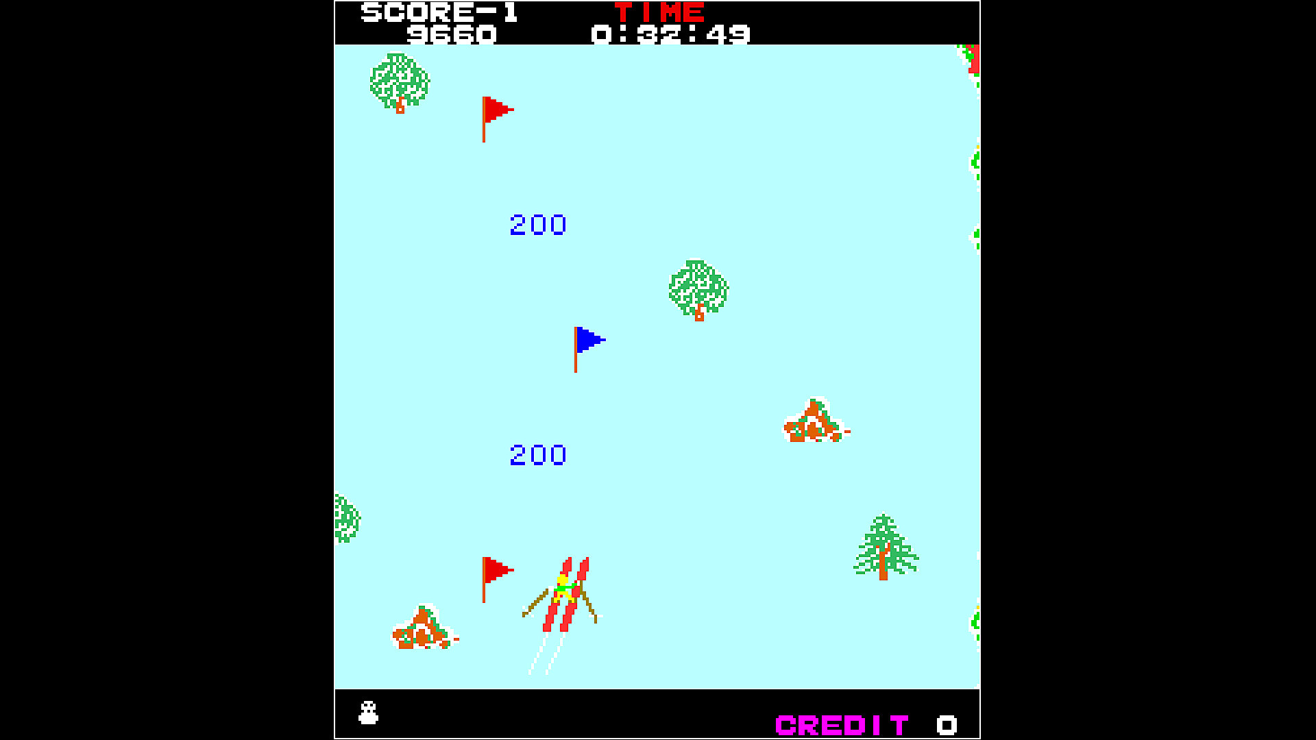 Gameplay de Arcade Archives ALPINE SKY