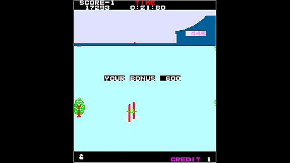Arcade Archives ALPINE SKI - Screenshot INDEX