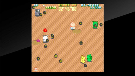Arcade Archives Buta san Trailer Screenshot