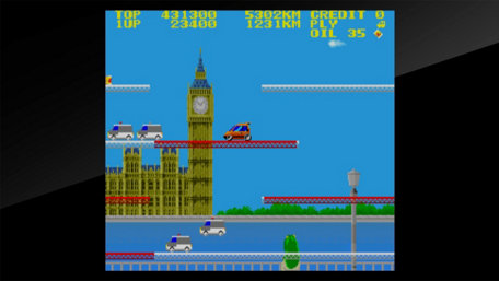 Arcade Archives City CONNECTION Trailer Screenshot