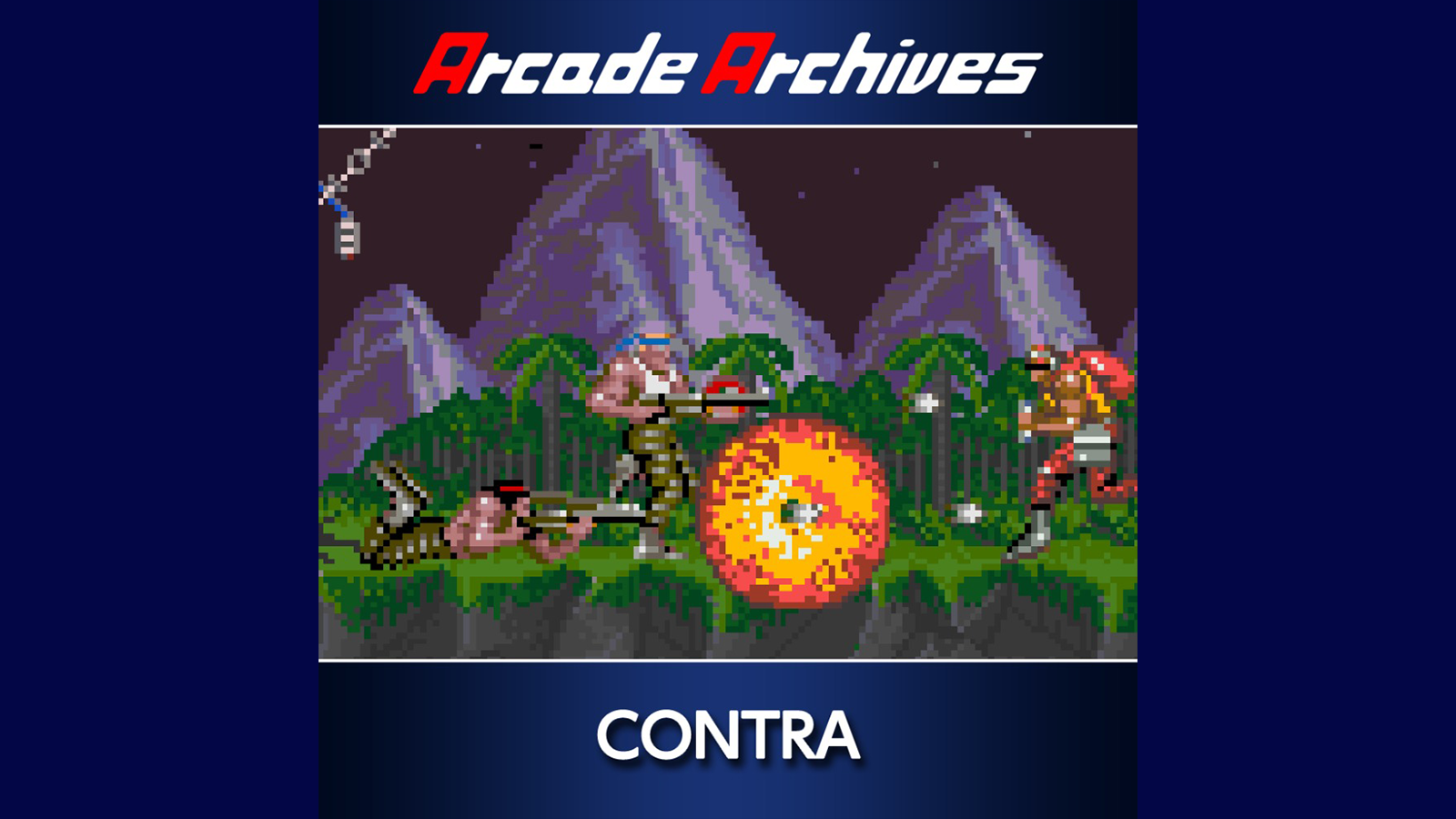 Arcade Archives CONTRA Game | PS4 - PlayStation