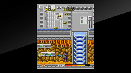 Arcade Archives Cosmo Police Galivan Trailer Screenshot