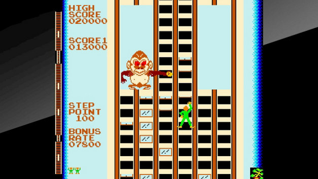 Arcade Archives CRAZY CLIMBER Screenshot 4