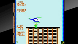 Arcade Archives CRAZY CLIMBER Screenshot 5