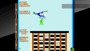 Arcade Archives CRAZY CLIMBER Screenshot 6
