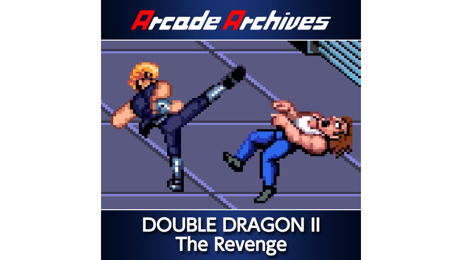 Arcade Archives Double Dragon Ii The Revenge Game Ps4 Playstation