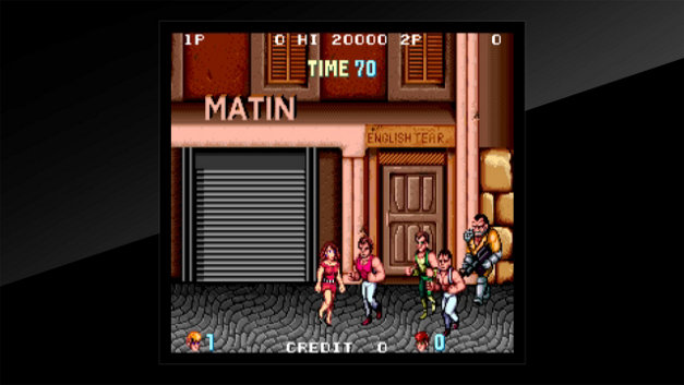 Arcade Archives DOUBLE DRAGON Screenshot 1