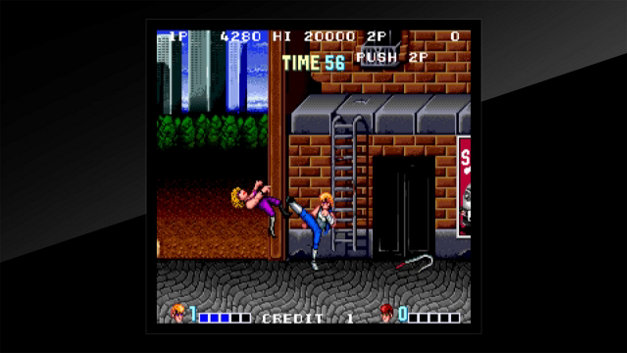 Arcade Archives DOUBLE DRAGON Screenshot 4