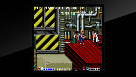 Arcade Archives DOUBLE DRAGON Trailer Screenshot