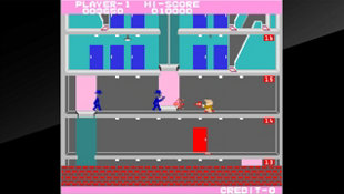 Arcade Archives ELEVATOR ACTION Screenshot 2