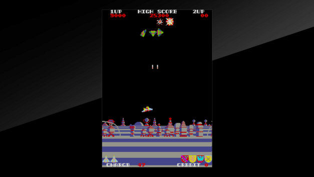 Arcade Archives EXERION Screenshot 10