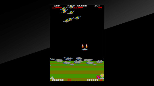Arcade Archives EXERION Screenshot 4