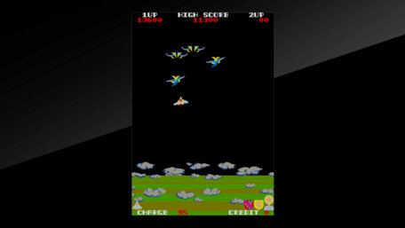 Arcade Archives EXERION Trailer Screenshot