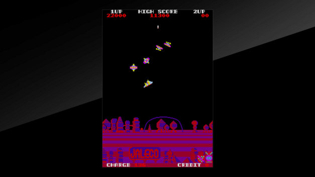 Arcade Archives EXERION Screenshot 7
