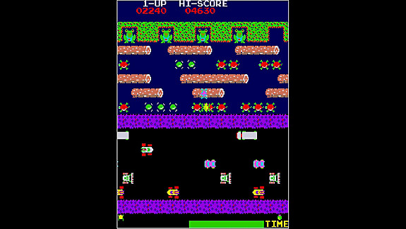 Arcade Archives FROGGER - Screenshot INDEX