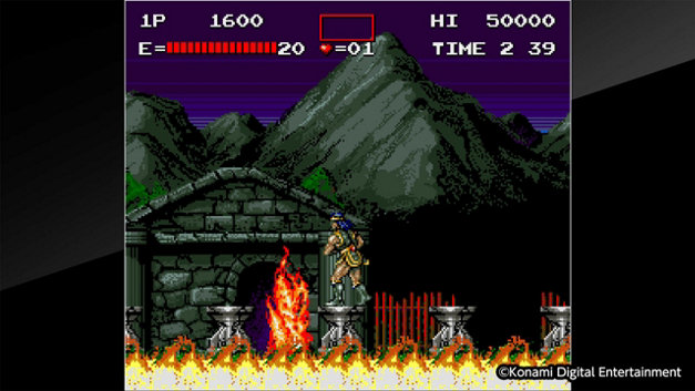 Arcade Archives HAUNTED CASTLE Screenshot 1