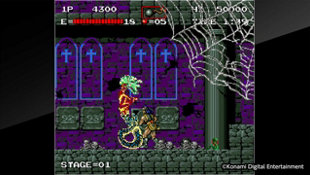 Arcade Archives HAUNTED CASTLE Screenshot 9