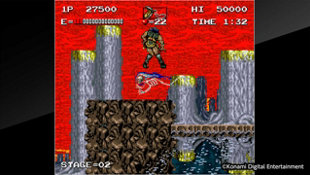 Arcade Archives HAUNTED CASTLE Screenshot 2