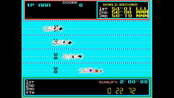 Arcade Archives HYPER SPORTS - Screenshot INDEX