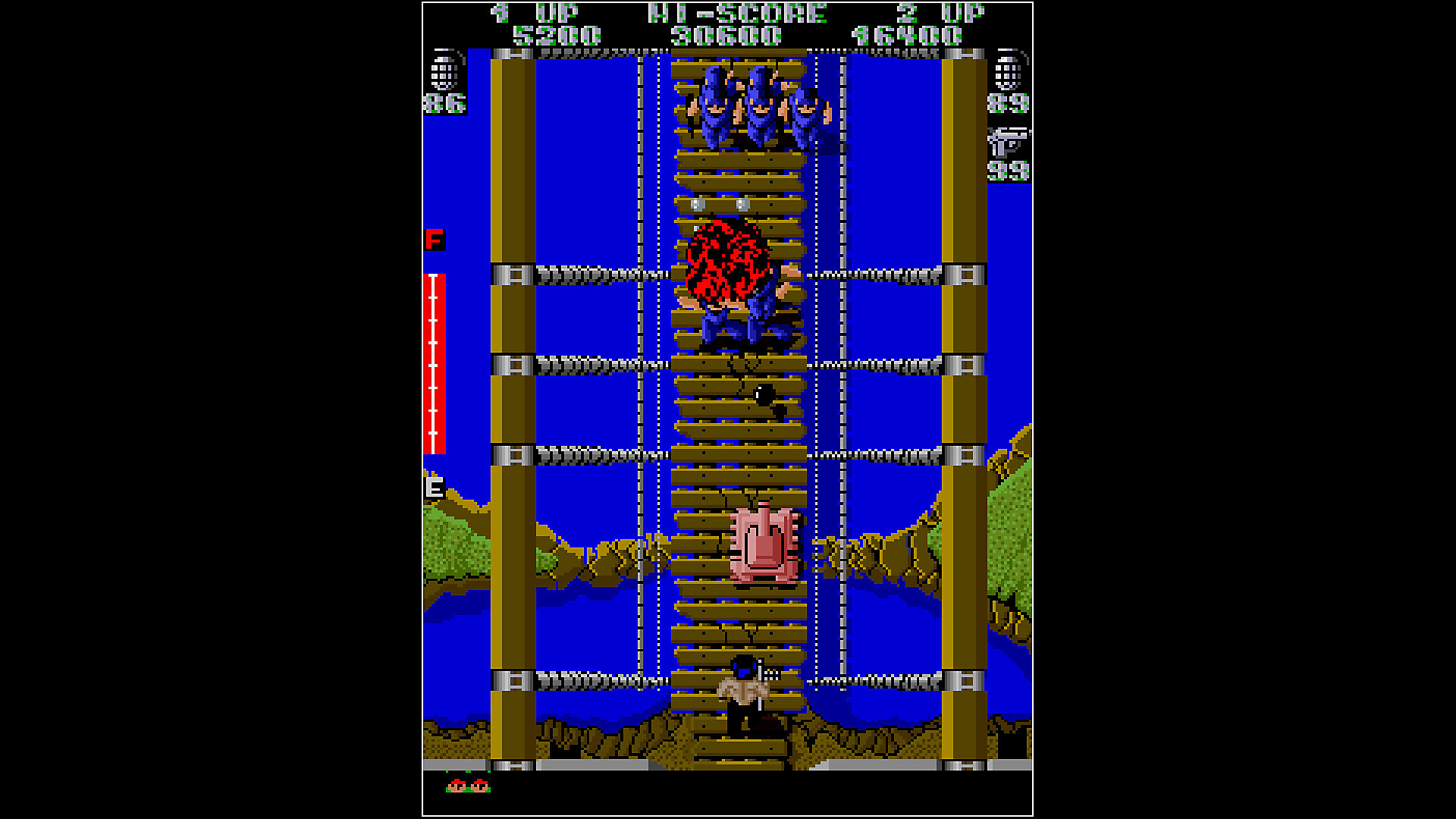Gameplay de Arcade Archives IKARI WARRIORS