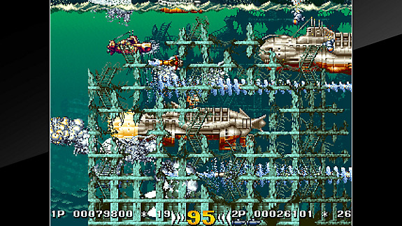 Arcade Archives IN THE HUNT - Screenshot INDEX