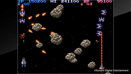Arcade Archives LIFE FORCE Trailer Screenshot