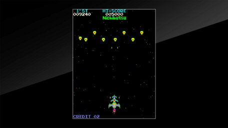 Arcade Archives MOON CRESTA Trailer Screenshot