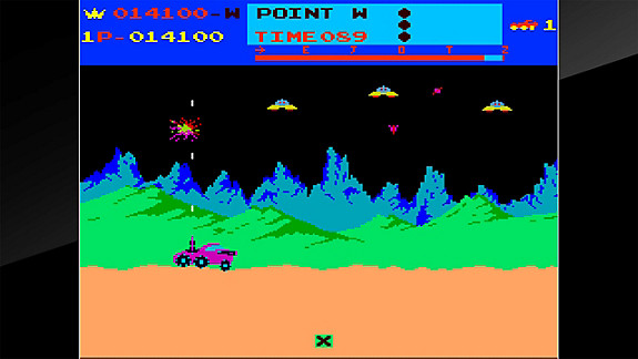 Arcade Archives MOON PATROL - Screenshot INDEX