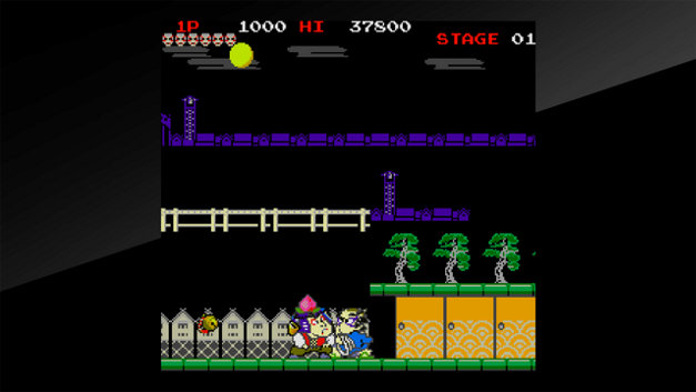 Arcade Archives Mr.GOEMON Screenshot 1