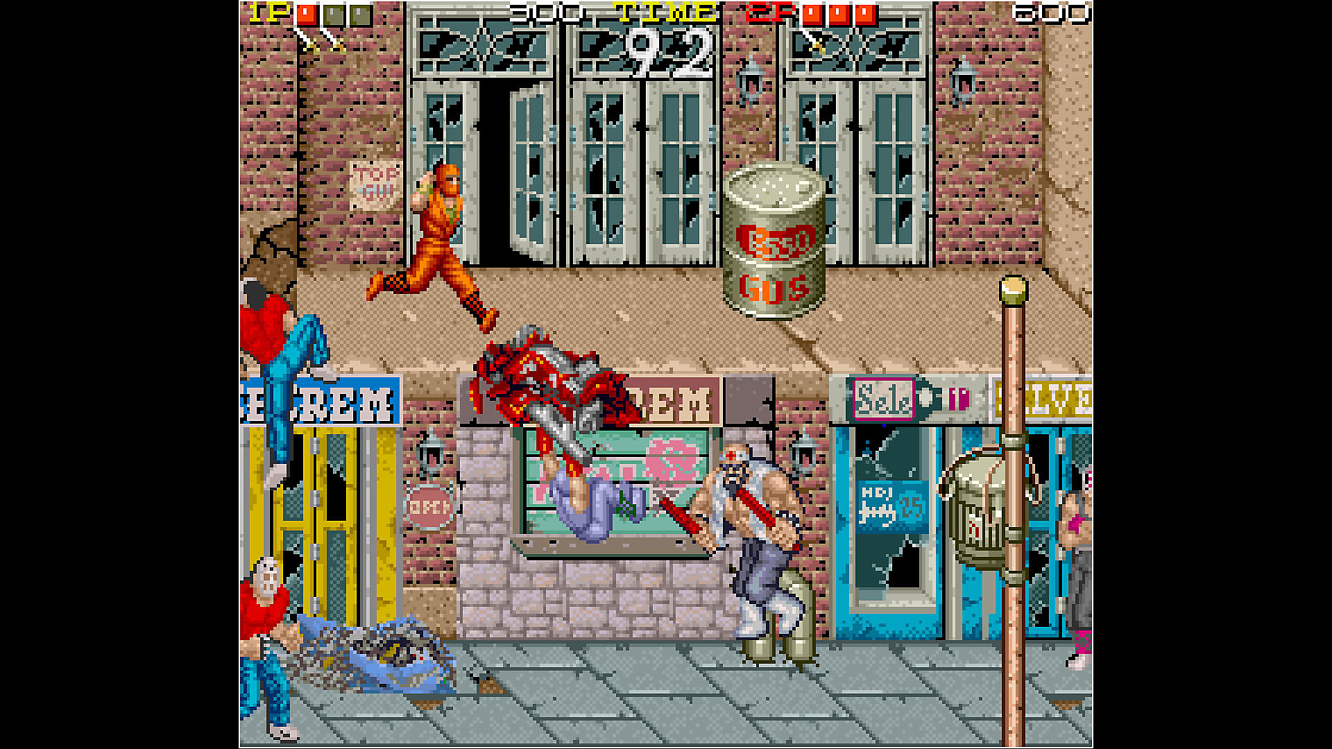 Gameplay de Arcade Archives NINJA GAIDEN