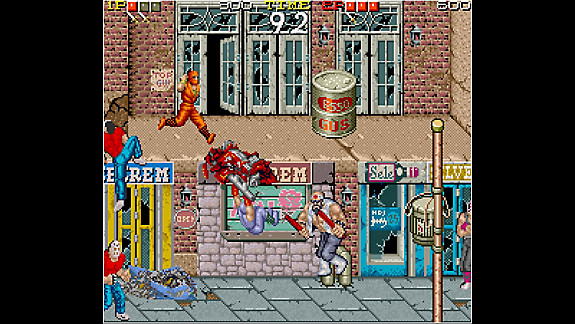 Arcade Archives NINJA GAIDEN - Screenshot INDEX