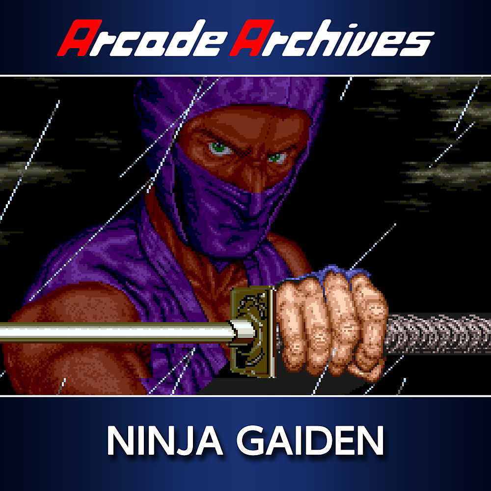 Arcade Archives Ninja Gaiden Game Ps4 Playstation