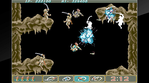 Arcade Archives Ninja Spirit - Screenshot INDEX
