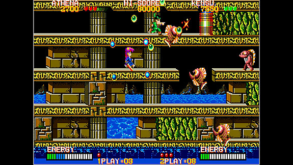 Arcade Archives PSYCHO SOLDIER - Screenshot INDEX