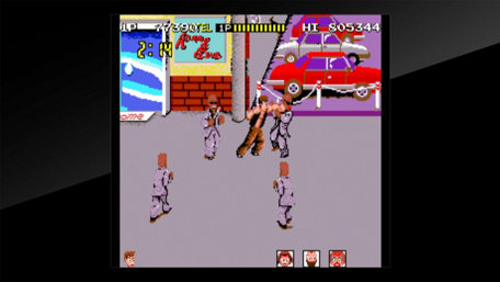 Arcade Archives Renegade Trailer Screenshot