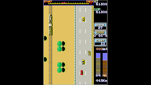 Arcade Archives ROAD FIGHTER - Screenshot INDEX