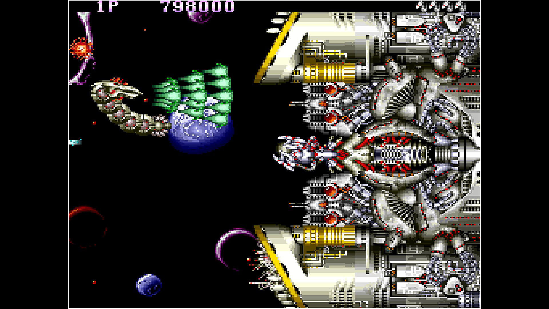 Gameplay de Arcade Archives SAINT DRAGON