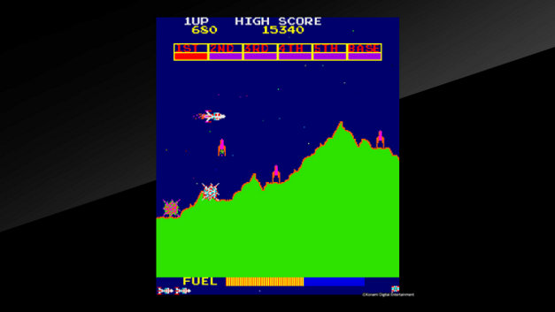 Arcade Archives Scramble Screenshot 1