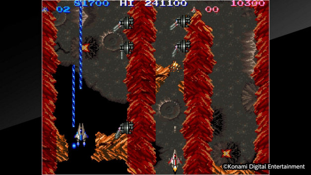Arcade Archives LIFE FORCE Screenshot 1